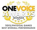 One Voice Awards 2018 Winner Badge