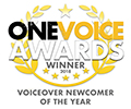 One Voice Awards 2018 Winner Badge