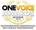 One Voice Awards 2019 Winner Badge